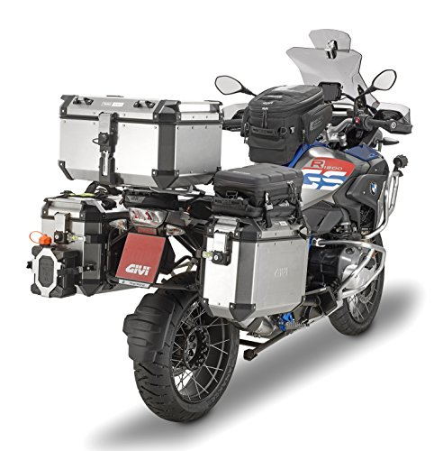 Givi OBK58A Baúl Trekker Outback 58 Monokey, Aluminio, 58 litros, Carga Máxima 10 Kg