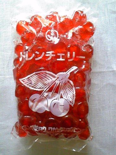 ワカヤマショクヒン ドレンチェリー 赤400g
