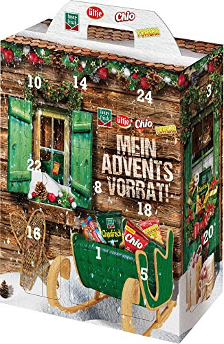 Intersnack Adventskalender , 790 gr