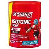 Enervit Sport Isotonic Drink Bebida isotónica en polvo de electrolitos para deportes de resistencia, bebida isotónica para uso regular en el deporte, limón, lata de 420 g