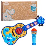 Just Play Blue's Clues & You! Sing-Along Guitar and Microphone 2-Piece Pretend Play Set, Lights and Sounds Toy Instruments, Amazon Exclusive