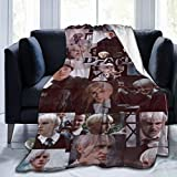 PANMEILI Dra-co Ma-lfoy Blanket Super Soft Fleece Christmas Decorations Throw Blankets for Living Room Bedding Sofa Bedroom Blankets Decor Small 50x40 Inch