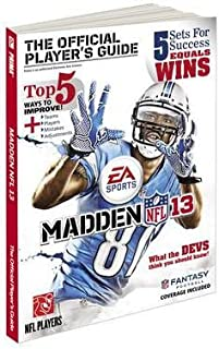 [Madden NFL 13 Official Game Guide (Prima Official Game Guides)] [Author: Prima Games] [August, 2012]