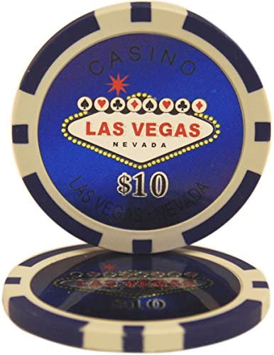 50 $10 Las Vegas Casino Clay Max 56% OFF outlet Chips 14 Gram Composite Poker