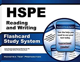 HSPE Reading and Writing Flashcard Study System: HSPE Test Practice Questions & Exam Review for the Nevada High School Proficiency Exam (Cards) by HSPE Exam Secrets Test Prep Team (2014-01-06)