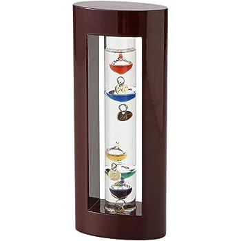 茶谷産業 ガラスフロート温度計S 高さ180×幅75×奥行40mm 333-200