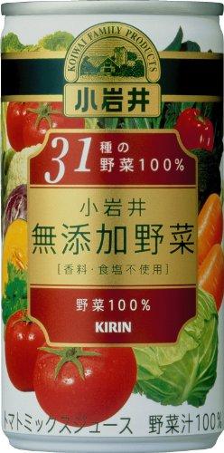 小岩井無添加野菜31種の野菜100%缶(190g×30本)