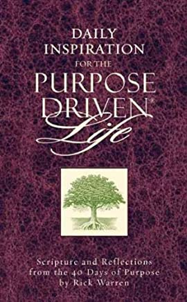 [(Daily Inspiration for the Purpose Driven Life)] [By (author) Rick Warren] published on (March, 2004)