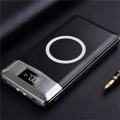 XIECUI Banco de energíaBanco de energía magnético de 10000 mah para Banco de energía inalámbrico para Xiaomi Samsumg batería de energía móvil China Verde