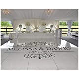 NIGHTLITE USA Wedding Dance Floor Custom Decal