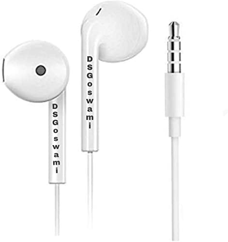 DS Goswami Earphones Hard Bass HD Sound Buy Magic High Bass In Ear Earphones With MIC Suitable For All Mobiles Phone