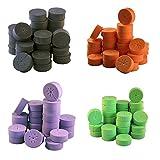 120 Pack 2' Rainbow xGarden Clone Collars - Advanced Spoke Design - Premium Neoprene Inserts for Net Pots and Cloning Machines