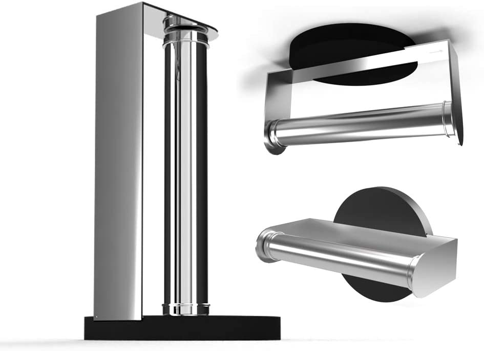 Purelite Free shipping 3 in Special Campaign 1 Paper Towel Standing Countertop Rack and Holder