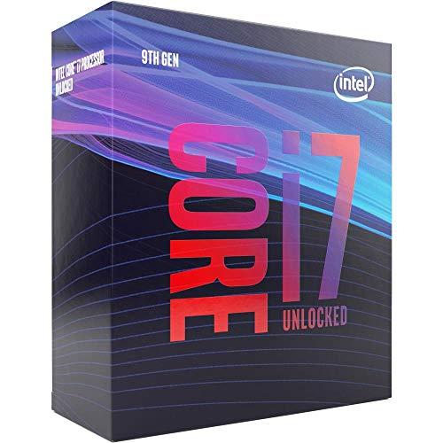 CPU Intel Core I7 – 97 – 9700 Coffee Lake 3000 MHz de Cores 8 – 12 Mbps 65 W de PU UHD 630 de bx80684i79700srg13