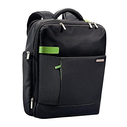 Leitz, Leichter und erweiterbarer Business-Rucksack, Für 15.6 Zoll Laptop oder Ultrabook, Smart Traveller, Complete, Schwarz, 60170095