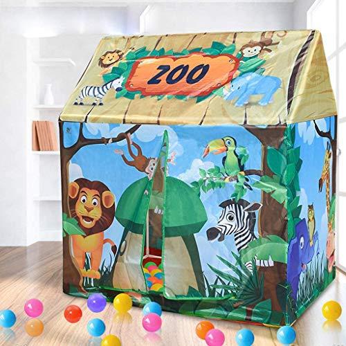 Tienda De Juguetes Para Niños, Casa De Juguetes, Tienda Dibujos Animados Para Zoológicos, Tienda Para Niños Juego Zoológicos Para Bebés Interiores Y Exteriores Playa Jardín Parque Fiesta Protección