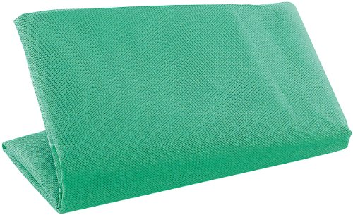 PEARL Grüner Hintergrund: Greenscreen-Hintergrund für Fotos & Videos, 100 x 160 cm (Foto Video Greenscreen)