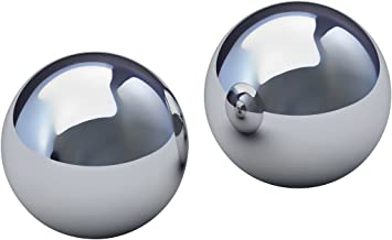 "Two 2"" Inch Chrome Steel Bearing Balls G25"