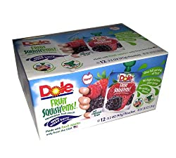 dole fruit squishems, natural fruit, gluten free, allergen free, whole serving of fruit, dana vento, Reach for Complete Teeth Care