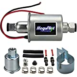 Megaflint+ E8012S 12V Universal Electric Fuel Pump Low Pressure 5-9 PSI For Gas