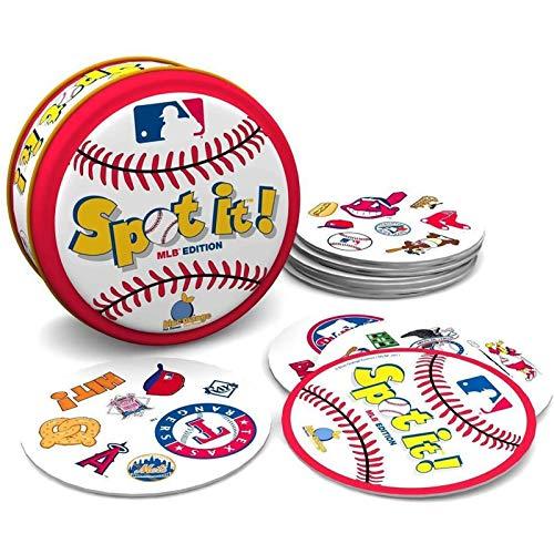 YUDIZWS Finden Sie es English Cards Finden Sie den Unterschied Brettspiel Pairing Card Games Brettspiele für Kinder Erwachsene,Baseball