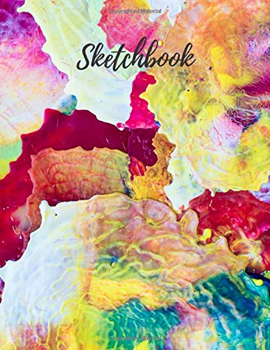 Sketchbook for Adults: Notebook Large Blank White Paper, 119 Pages, 8.5