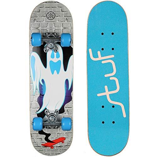 Stuf Kid Skateboard, 24' x 6,5' dec,blau, Größe:OneSize, Farbe:blau-grau