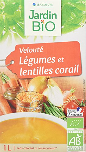 Jardin Bio Velouté Légumes/Lentilles Corail 1 kg