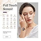 Zoom IMG-2 smartwatch donna gokoo touchscreen completo