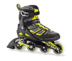 HIGH PERFORMANCE SKATES for the fitness enthusiast who wants a little more lateral support for stability while looking to train, exercise or skate faster. LOWER CUFF FOR A PERFORMANCE SKATER This structure supports the abilities of all skaters comfor...