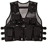 Modern Warrior Airsoft and Paintball Accessory-Junior Tactical Vest, Fits Children and Teens 50