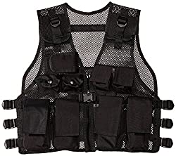 Modern Warrior Junior Tactical Vest - Fits 50-125lbs - Paintball Accessory