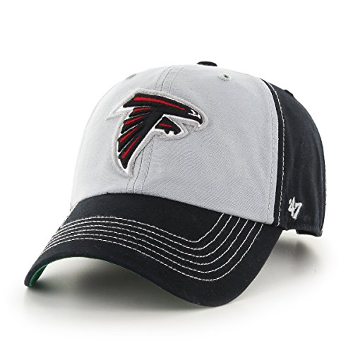 '47 NFL Atlanta Falcons McGraw Clean Up Adjustable Hat, One Size Fits Most, Black