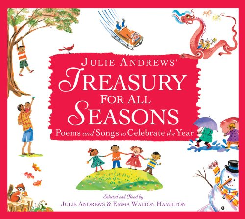 『Julie Andrews' Treasury for All Seasons』のカバーアート