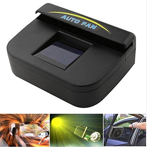 Preisvergleich Produktbild Car Heater Solar Power Auto Fan Air Fahrzeug Vent Cool Kühler Ventilation System Kühler Fit Für Passt Autofenster