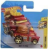 DieCast Hot Wheels Buns of Steel, Fast Foodie [Short Card]