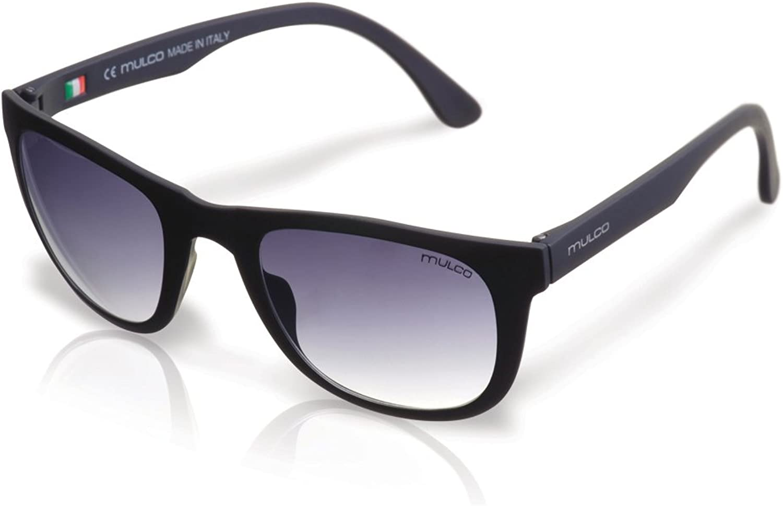 Mulco M10 C1 Black Frame Black Lens 40 mm Oval Sunglasses