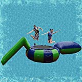 Guhih Water Trampoline for Lake Floating Islands for Lake Large Water Inflatable Trampoline And Lake Bounce Platform Are Easy To Install And Store,4M/13.1FT
