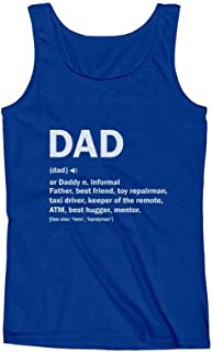 Dad Definition Funny Father's Day Gift Men's Tank Top