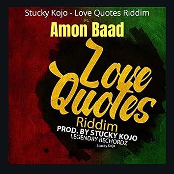 Love Quotes Riddim
