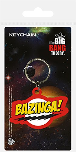 Pyramid International Porte-clés Bazinga The Big Bang Theory