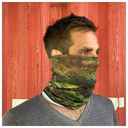 Yukon Outfitters Buff Multi Use Face Mask Neck Gaiter - Bird's Eye View