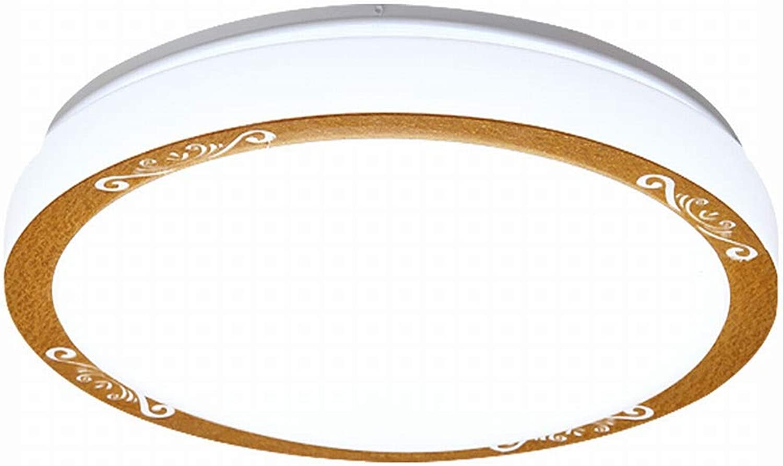 MackeJacke Acryl Deckenleuchte Schlafzimmer Lampe Balkon Gang Lampe Küche Und Aluminium Lampe Runde Lampe 20  20 cm 5 Watt Weies Licht
