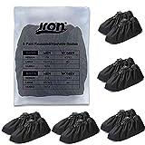 Jron 5 Pairs Premium Reusable Washable Shoe Cover Boot Covers for Contractors (5 Pairs | U...