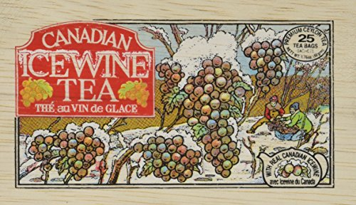 Metropolitan Canadian Ice Wine Tea In Decorative Wooden Box 25ct