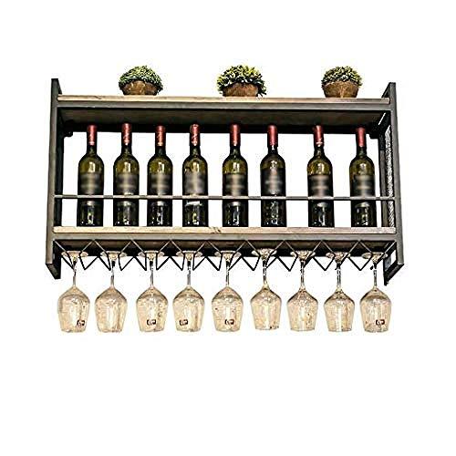 Botellero De Metal Botellero Estante Del Vino Rojo - Estante Para Vino...