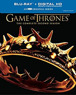Game of Thrones: Season 2 [Blu-ray + Digital Copy] (B00IYJDE3E) | Amazon price tracker / tracking, Amazon price history charts, Amazon price watches, Amazon price drop alerts