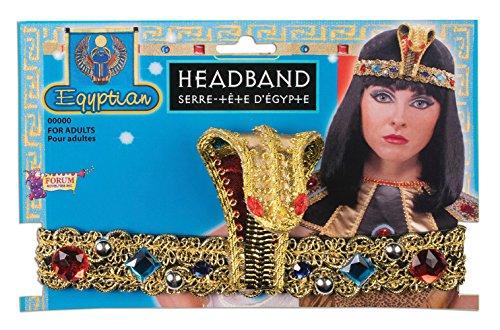Forum Novelties 74261Egipcio Diadema, Talla única