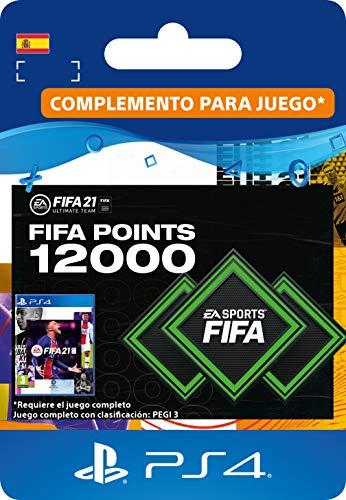 FIFA 21 Ultimate Team 12000 FIFA Points | Código de descarga PS4 (incl. upgrade gratuita a PS5) -...