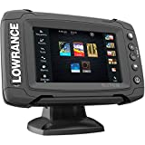 Lowrance Elite 5 Ti Touch Combo with 83/200/455/800 HDI Transom Mount Transducer